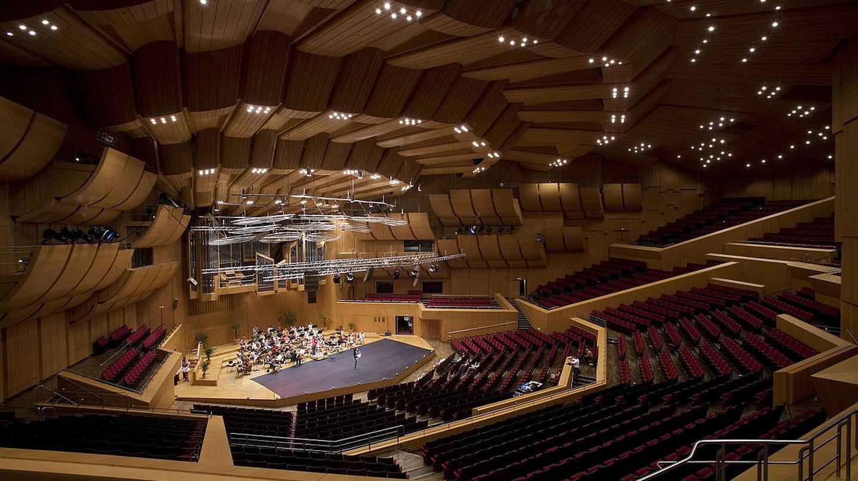 The Gasteig main auditorium