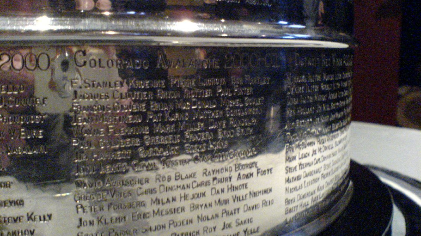 A close-up of the Stanley Cup | © Flickr/Matt Boulton