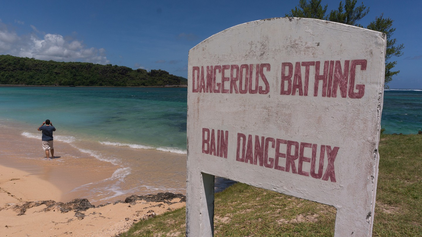 Dangerous Bathing|© Sebastian Kippe/FlickR