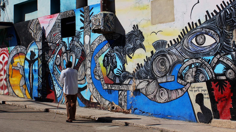 "Callejon de Hamel, Havana, Cuba | © <a href=""https://www.flickr.com/photos/spekul/14467535776/"">  Pablo Spekuljak / Flickr</a>"