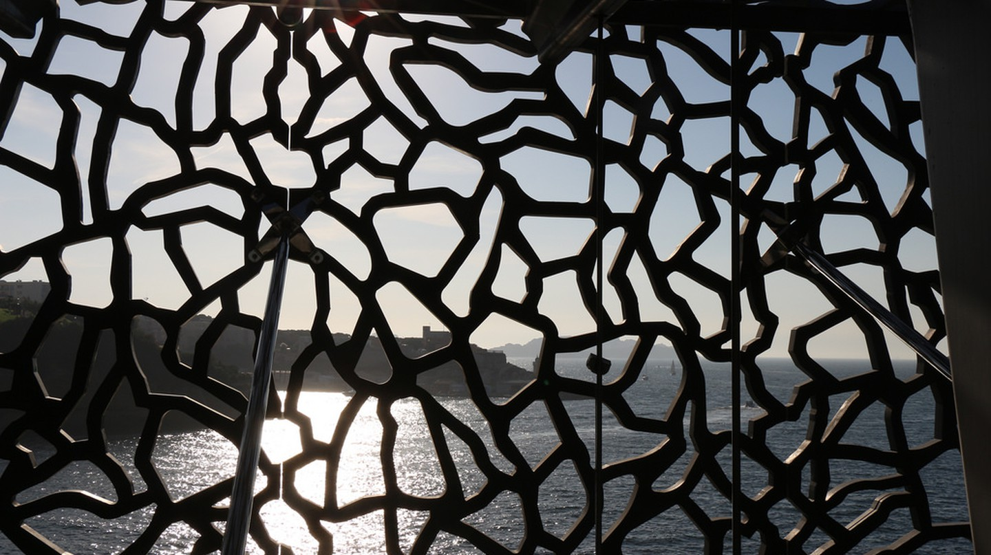 The MUCEM art gallery in Marseille