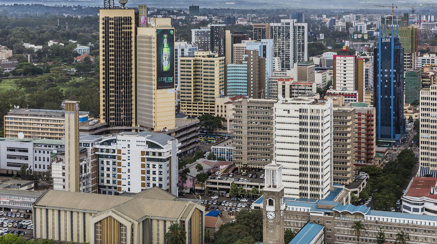 Nairobi city center, Kenya | © Ninara/Flickr