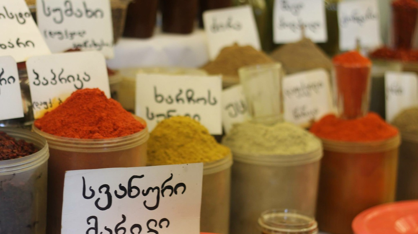 Spices sold at the Tbilisi market | © Sarah May Grunwald