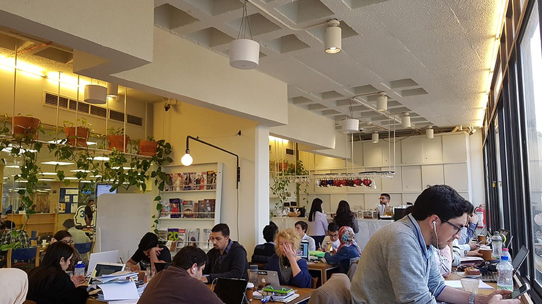Rumi Café in Shoman Library | Courtesy of Ginin Dunia Rifai