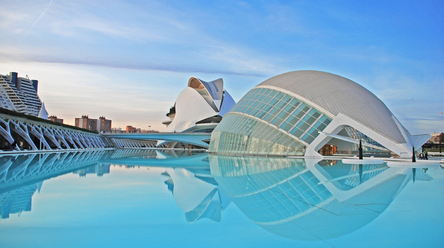 The City of Arts and Sciences, Valencia | © Ka13/WikiCommons