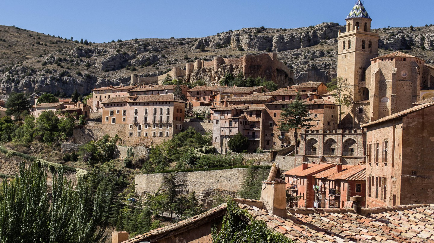 The town of Albarracín