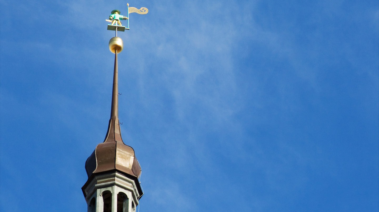 Old Thomas on top of the Town Hall tower | © olgite\Flickr