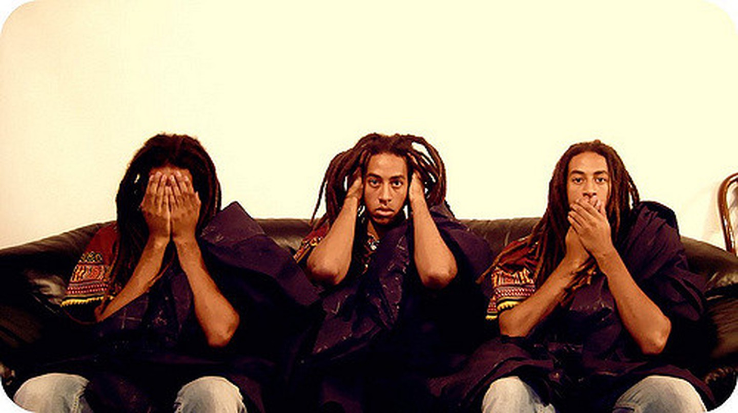 See, Hear, Speak No Evil |© Kwadwo Kwarte / Flickr