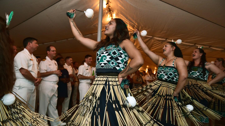 Kapa Haka Performance | © Royal New Zealand Navy/Flickr