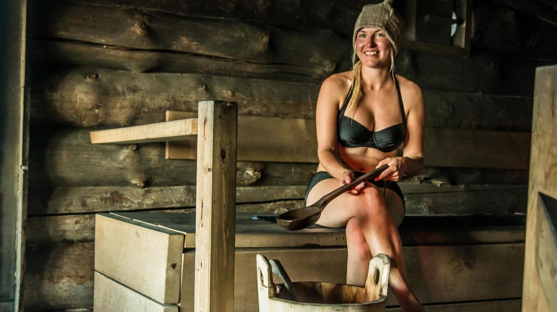 Inside a Finnish sauna | © Gary Bembridge/ Flickr