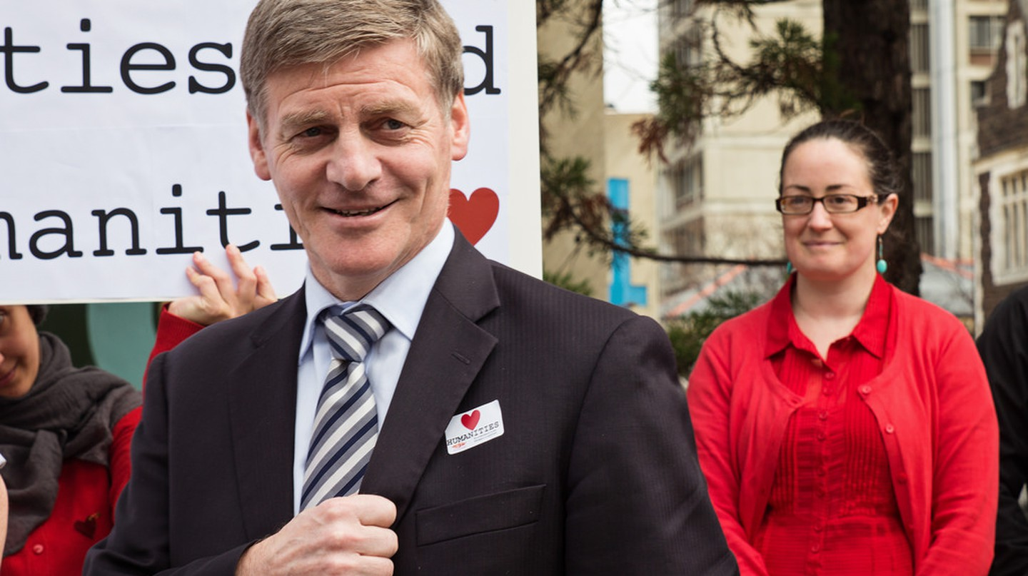 New Zealand's Prime Minister Bill English | © New Zealand Tertiary Education Union/Flickr