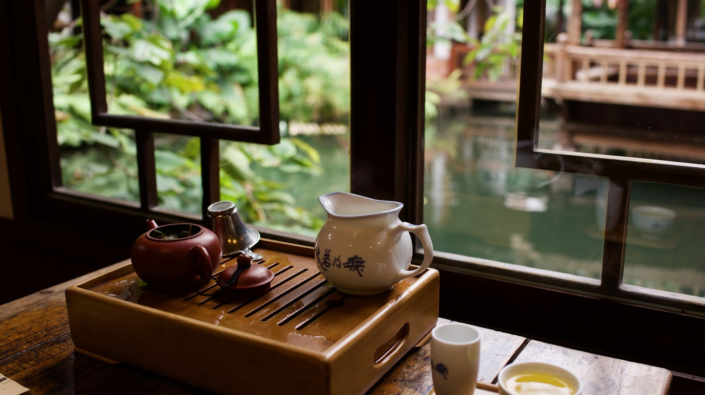 Chinese Tea House | ©vhines200/Flickr