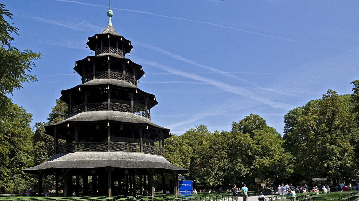 The Chinesischer Turm | © digital cat / Flickr