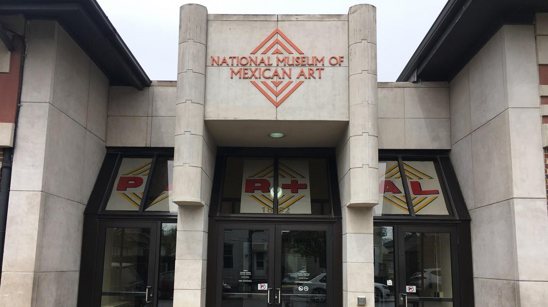 The National Museum of Mexican Art in Chicago's Pilsen neighborhood.