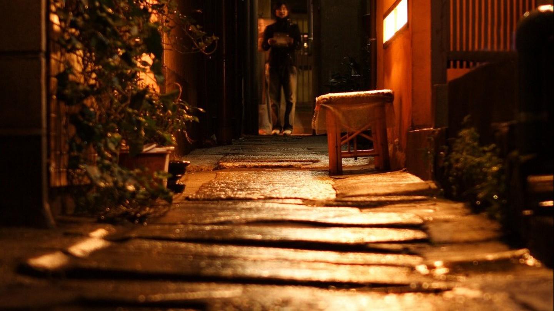 Kagurazaka at night | © mrhayata/Flickr