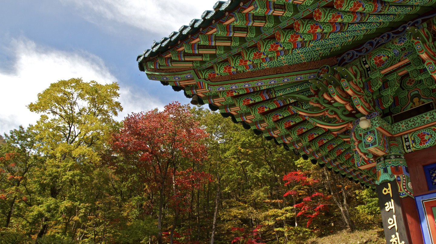 Temple in Seoraksan National Park | © Chris Campbell / Flickr