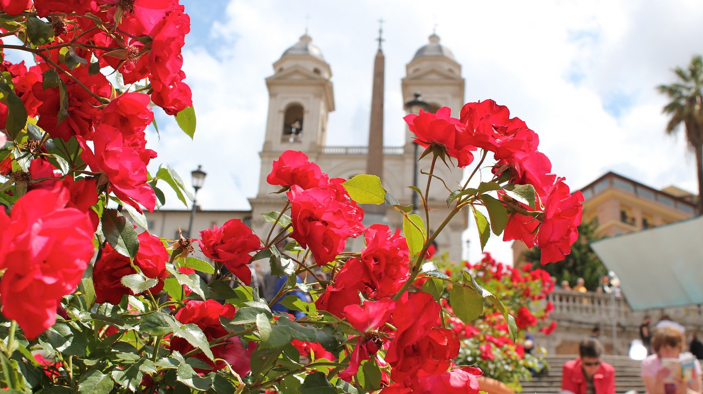 Spanish Steps in Spring | ©  oh_darling/Flickr