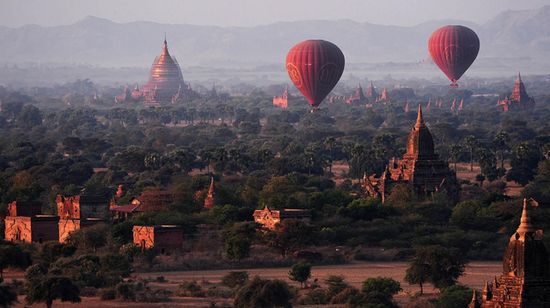 Bagan    © Andrew JK Tan/Flickr