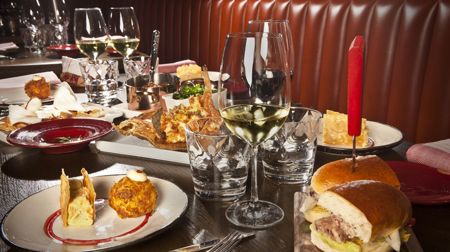 Gourmet items can be found all over Madrid   Courtesy of Platea Market