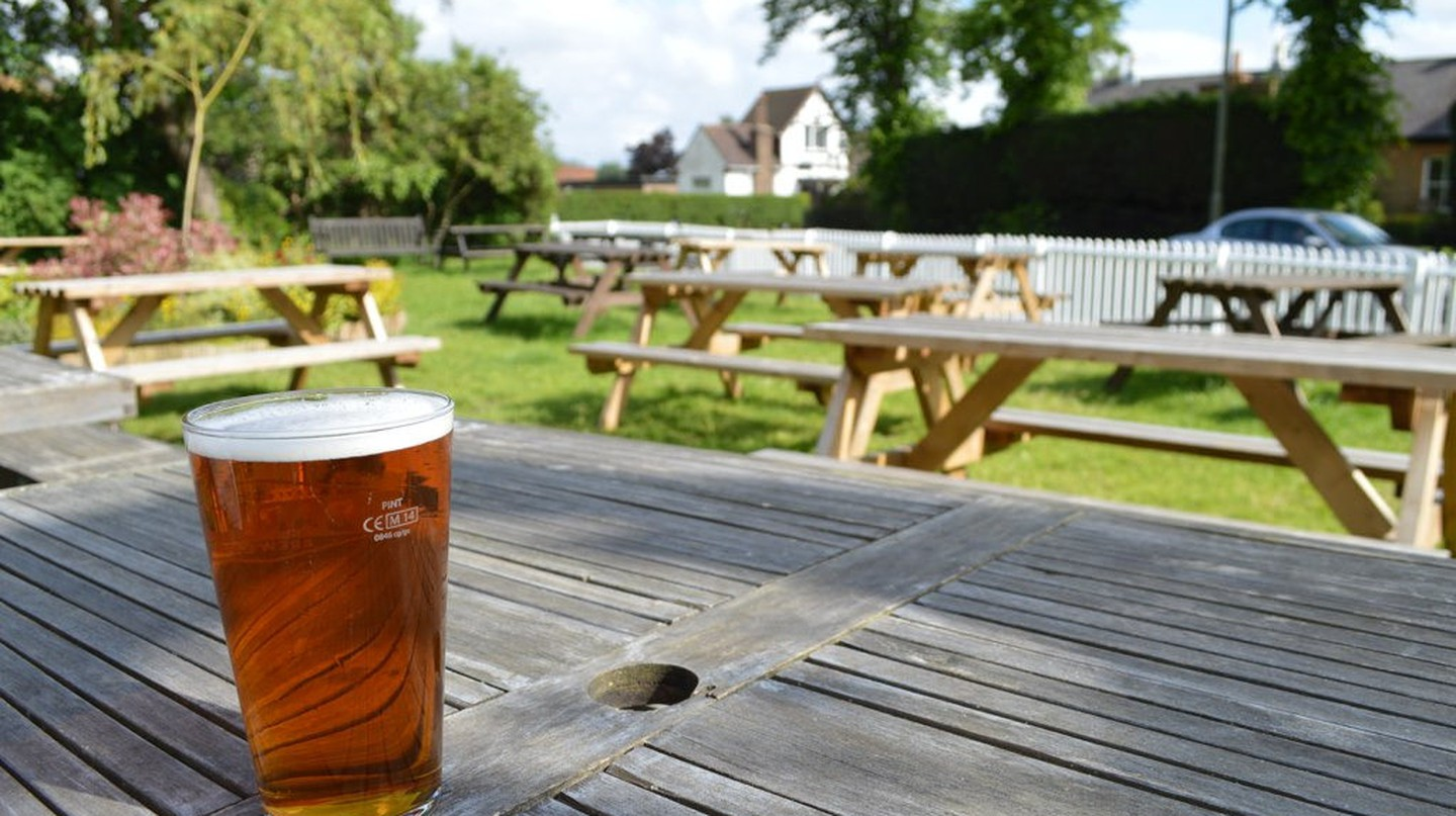 Beer Garden | ©  Matt Brown / Flickr