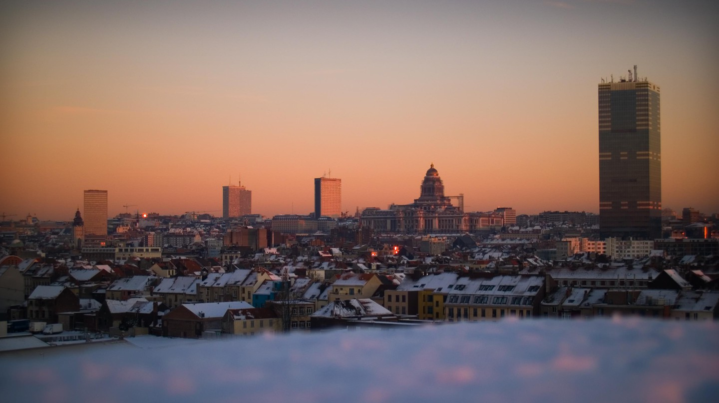 Brussels, as seen from one of the Erasmushogeschool's campus roofs   © Erasmushogeschool Brussels / Flickr