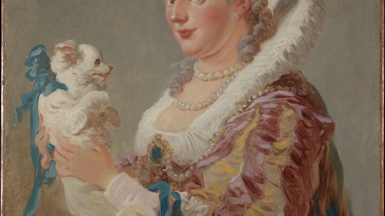 A Woman with a Dog (ca. 1769), Jean Honoré Fragonard   Courtesy of the Metropolitan Museum of Art/Fletcher Fund, 1937