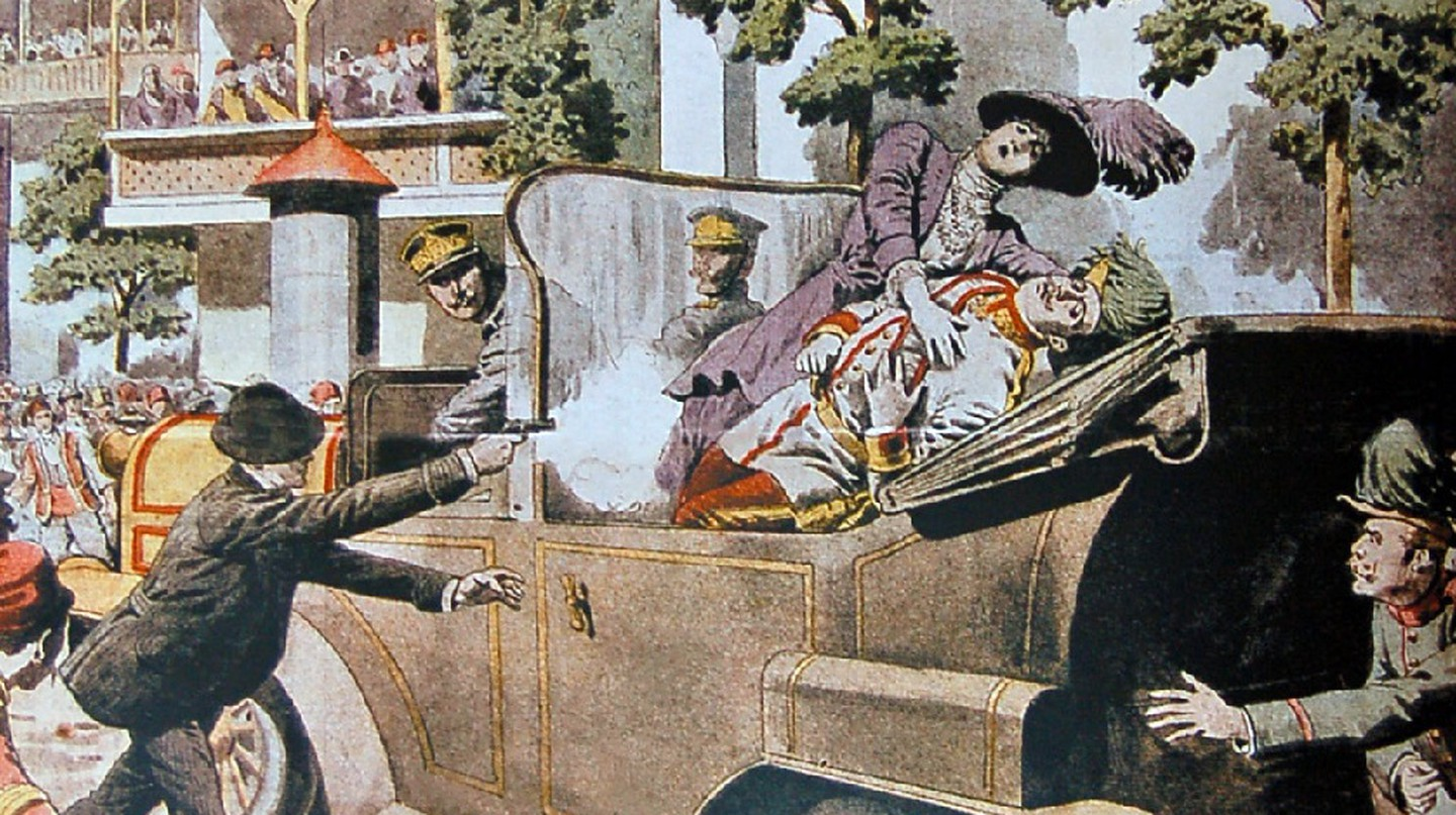 Assassination of Archduke Franz Ferdinand | ©  SARAJEWO Attentat / Wikimedia Commons