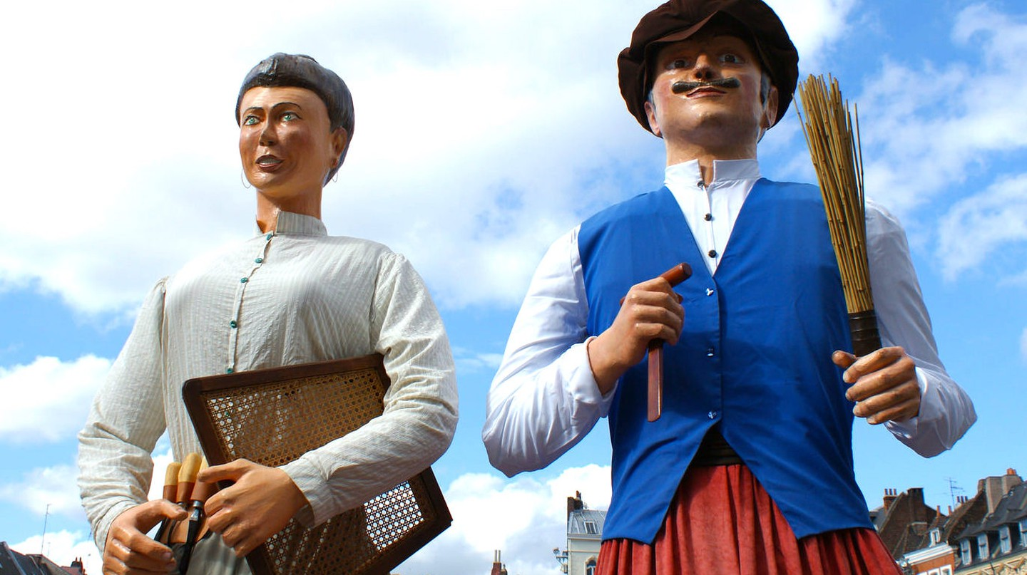 Giant puppets | © Olivier Duquesne/Flickr