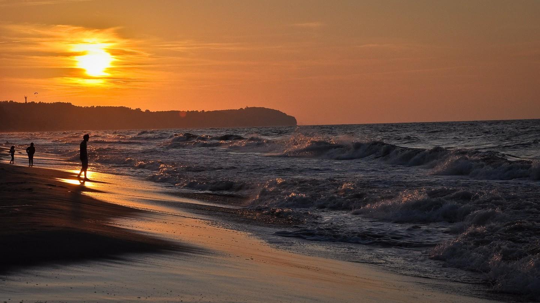 Baltic sea sunset, Hel, Poland | © PIVISO/Flickr/Public Domain
