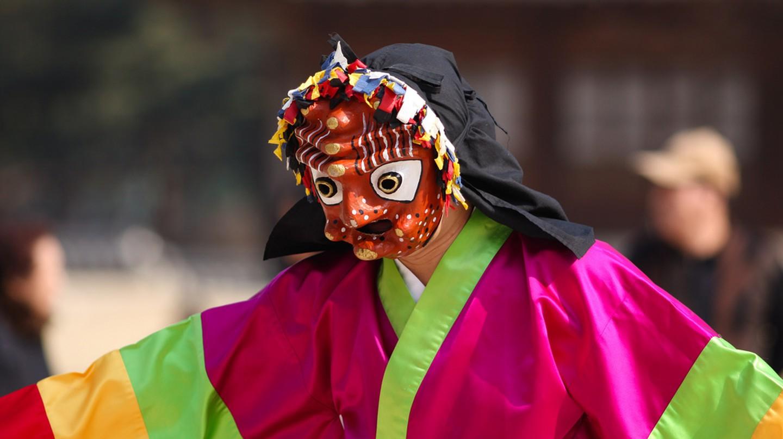 Korean mask drama | © Ralph Honsbeek