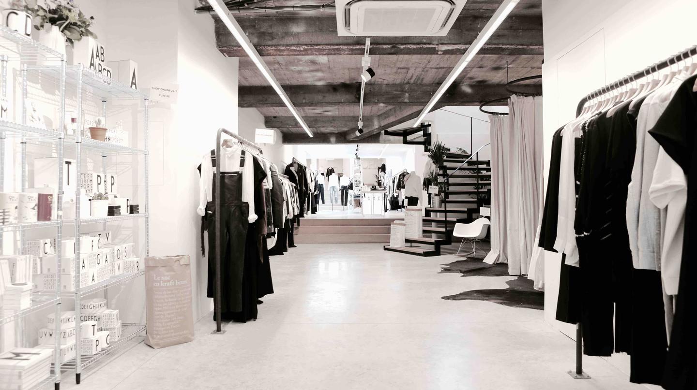 KURE, one of Brussels' fashion sanctuaries | Courtesy of KURE