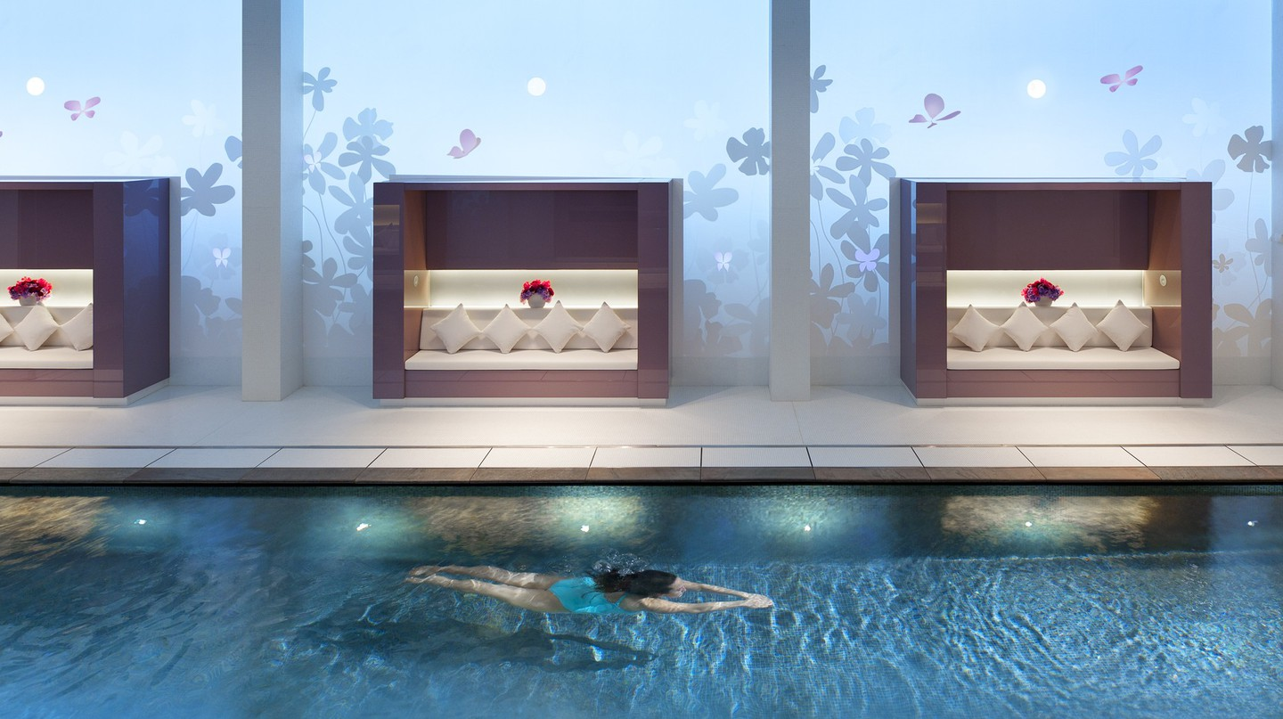 Le Spa du Mandarin Oriental, Paris │ Courtesy of Mandarin Oriental, Paris -