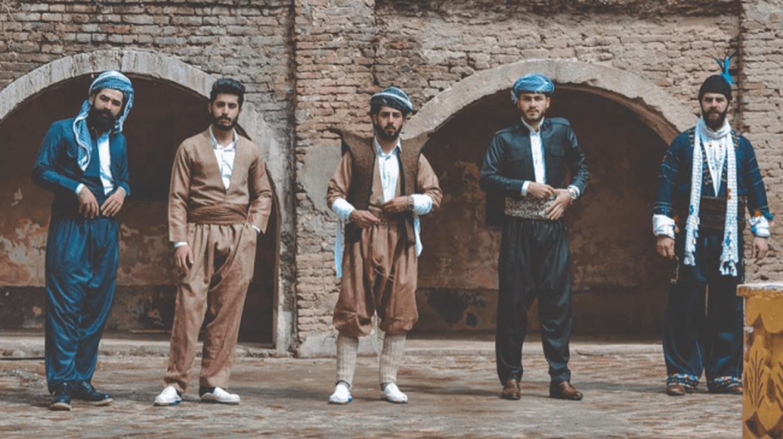 Mr.Erbil wearing Kurdish traditional clothes in the Citadel|© goran.photography