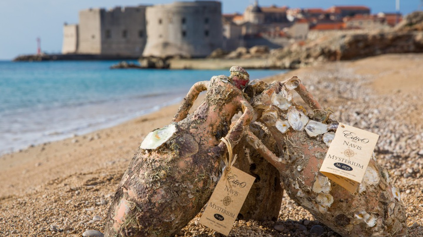 Croatia Launches Its First Underwater Winery