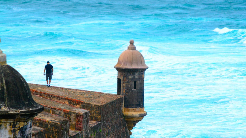Part of a fortification in San Juan, Puerto Rico   © Arnob Alam / Flickr