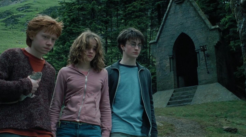 Ron, Hermione and Harry aren't kidding us   © Warner Bros