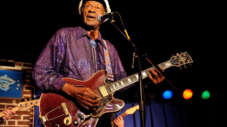 Chuck Berry died aged 90 | © Startraks Photo/REX/Shutterstock