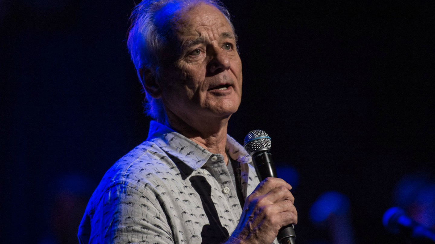 Bill Murray performing at the Love Rocks NYC! Benefit Concert | © Steven Ferdman/REX/Shutterstock