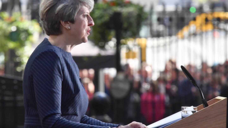 Prime Minister's Statement, London, UK (18 April) | Photo by Alan Davidson/SilverHub/REX/Shutterstock