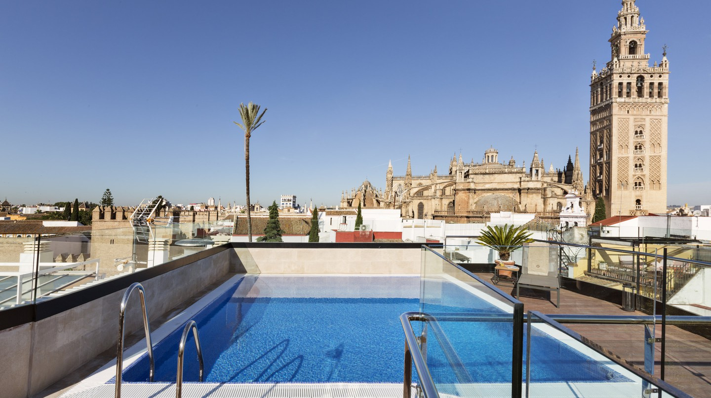 Roof terrace, Hotel Casa 1800 | Courtesy of Hotel Casa 1800