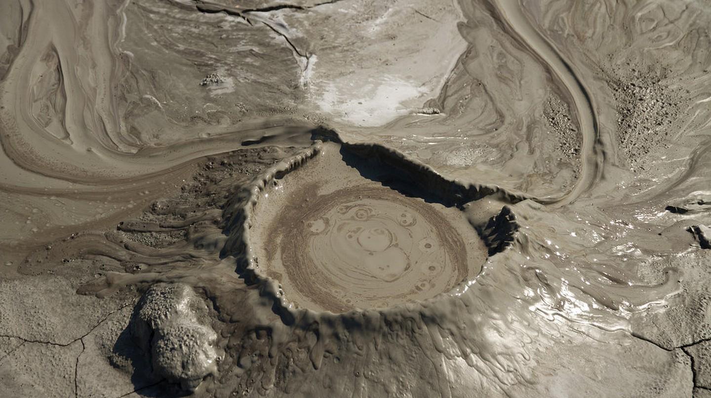 Mud Volcano Cone   © Cristiana Bardean /Flickr