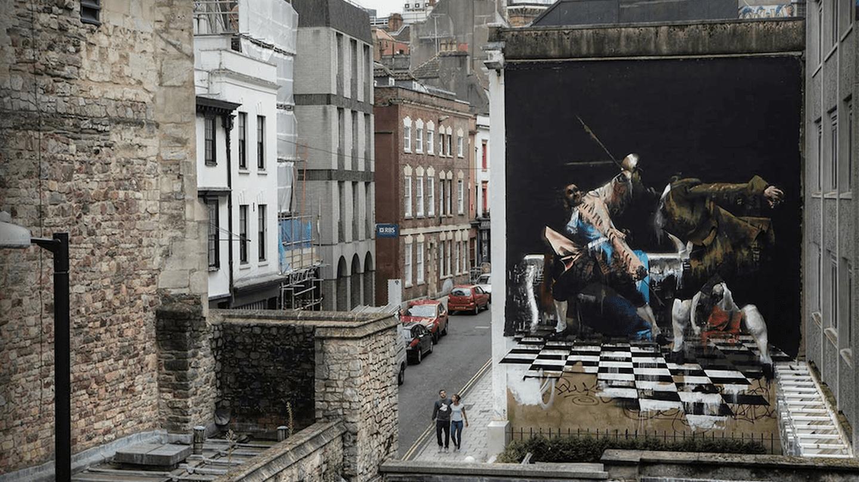 The Duel of Bristol by Conor Harrington | © Ian Cox / Courtesy of Conor Harrington