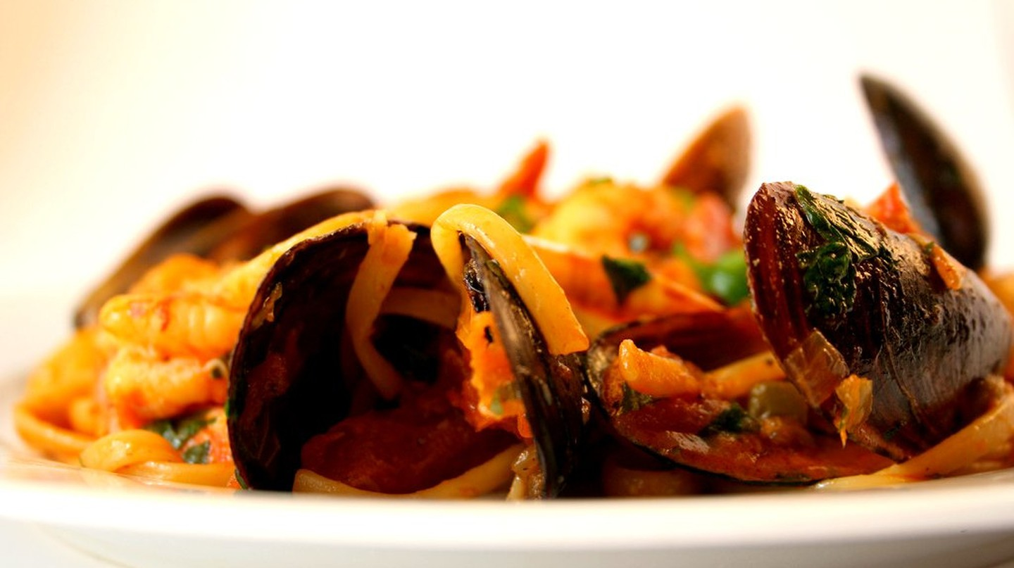 Seafood Pasta©CookingEtc:Flickr