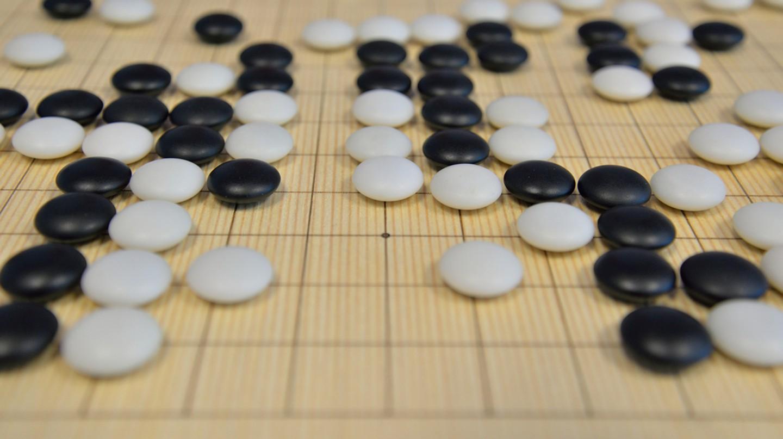 Go is a strategic board game | Oana Raluca/Shutterstock