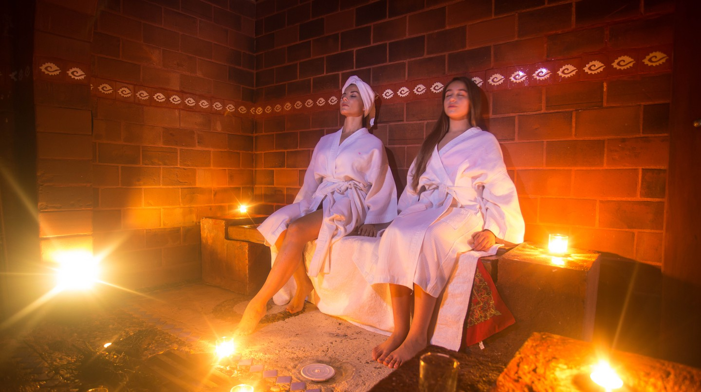 Healing Temazcal | Courtesy of Spa Xbalamque