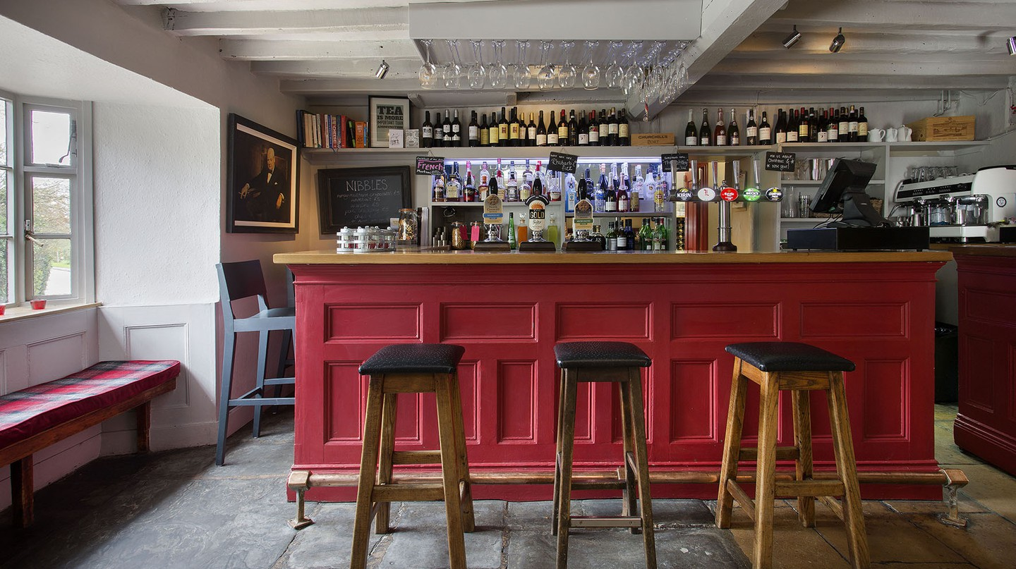 Bar Interior | Courtesy of The Churchill Arms