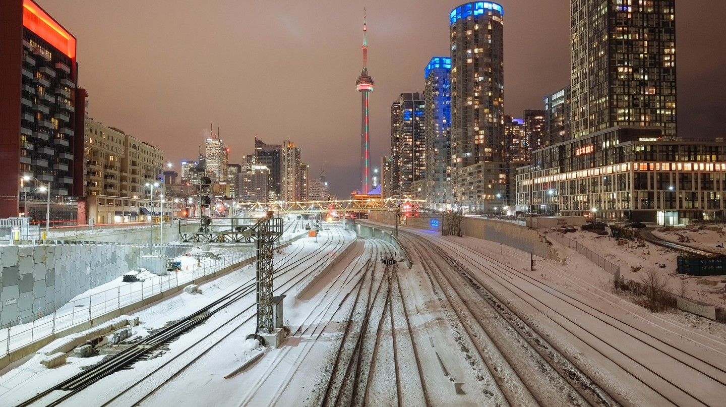 Toronto in the winter |© Nick Harris / Flickr