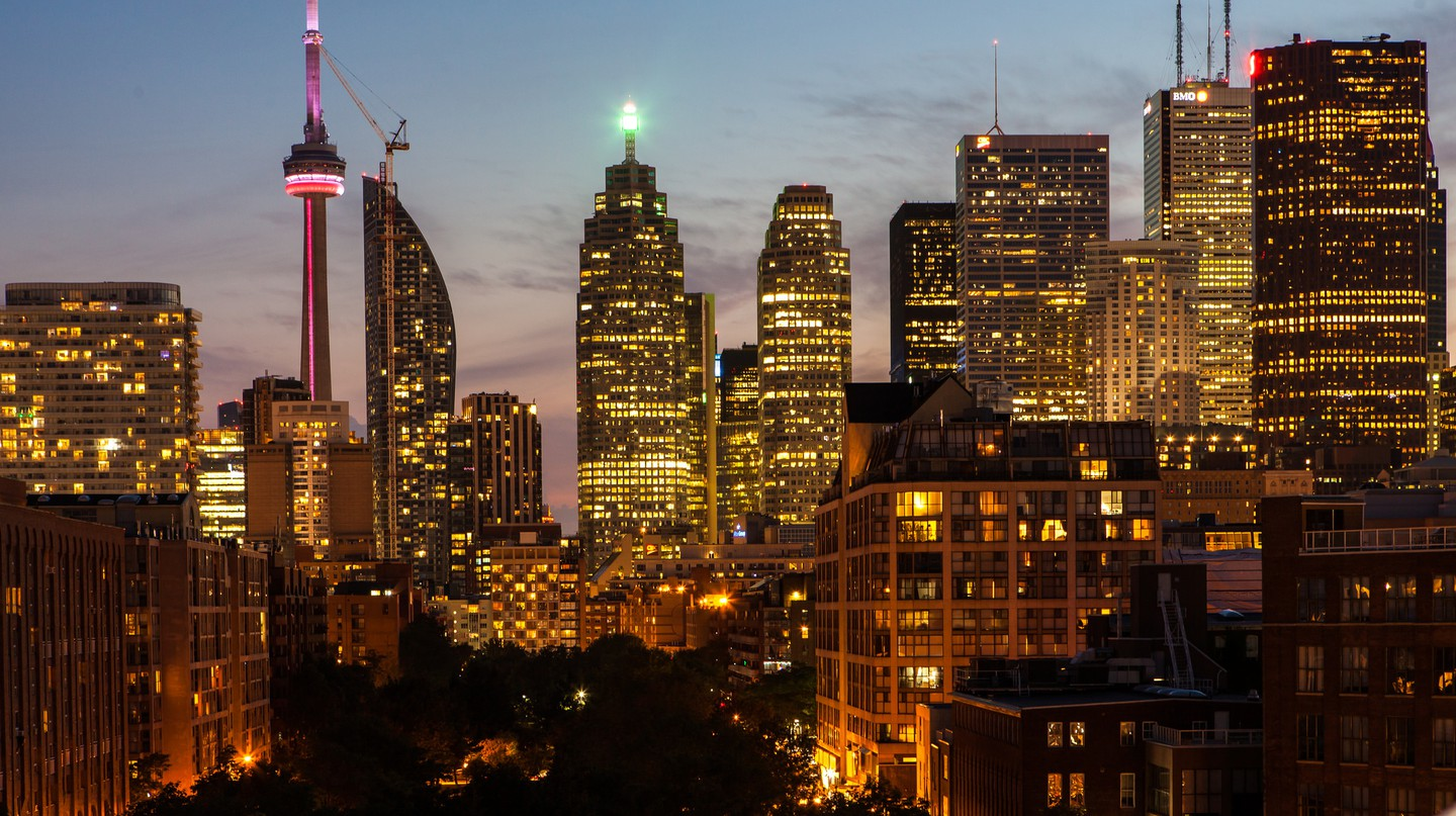 Toronto at twilight | © Rick Harris / Flickr