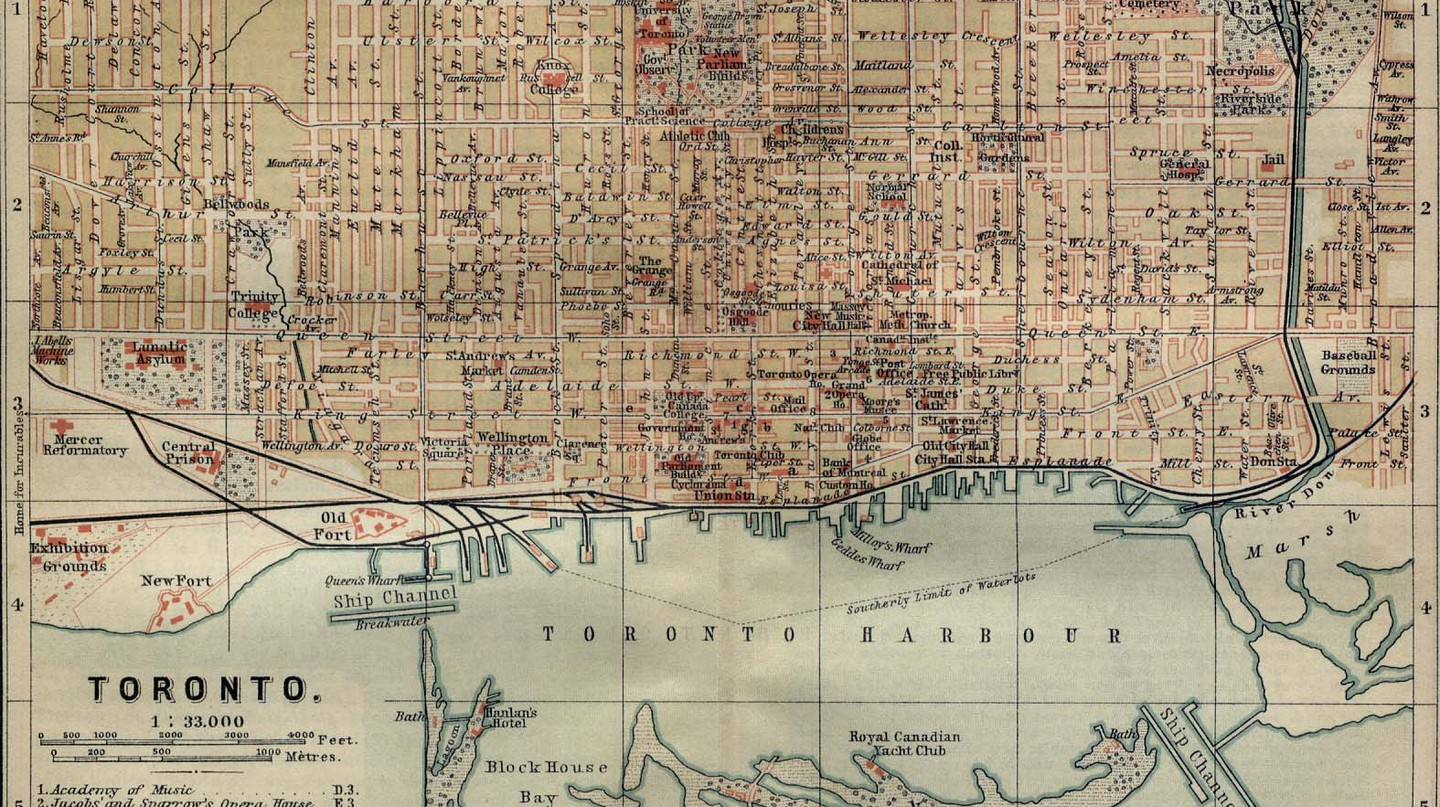Map of Toronto, 1894 | Public Domain/ WikiCommons
