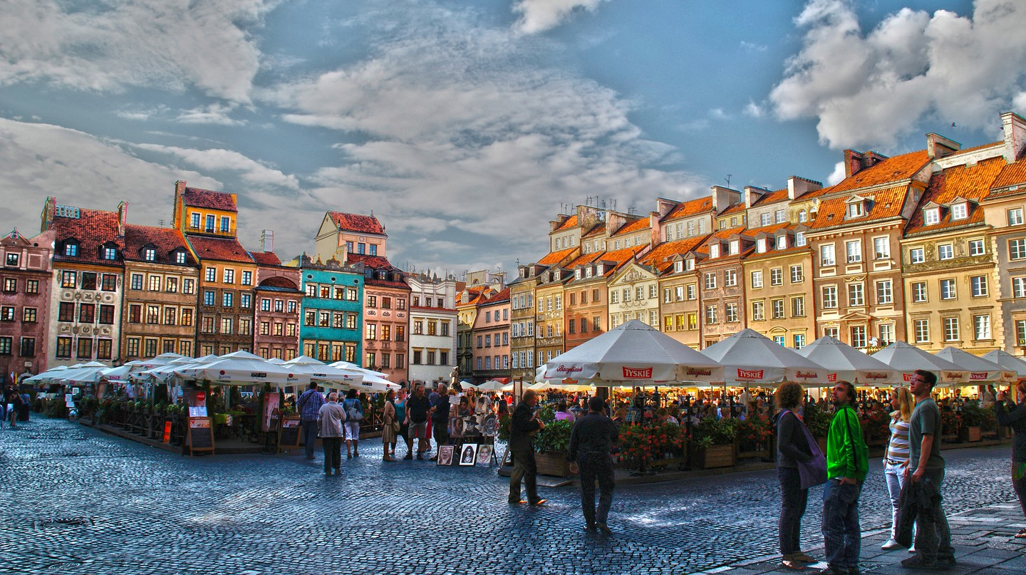 Warsaw Old Town | © Gabriela Fab/Flickr
